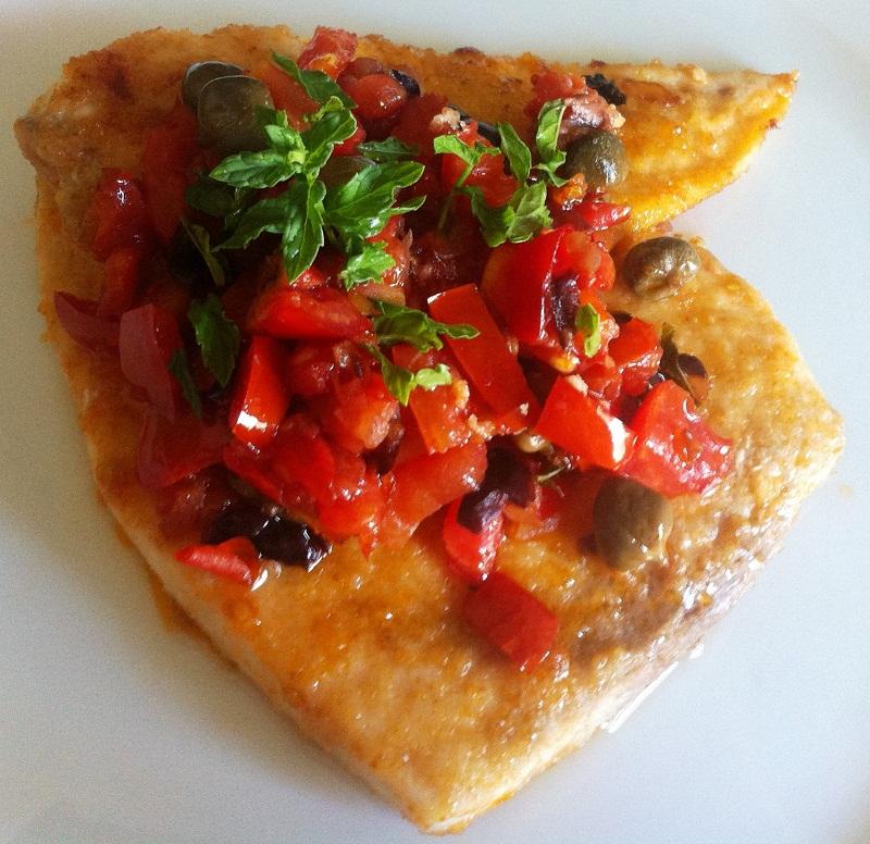 Ricette pesce spada pomodorini