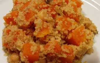 Cous Cous di Halloween con Zucca