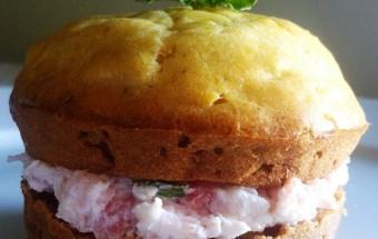 Muffin alla zucca con crema al formaggio