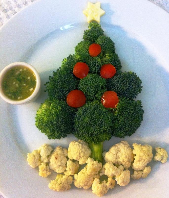 Antipasti Di Verdure Natale.Pinzimonio Di Verdure Christmas Style Antipastiveloci It