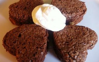 Regali dell'ultimo minuto San Valentino cioccolato brownies