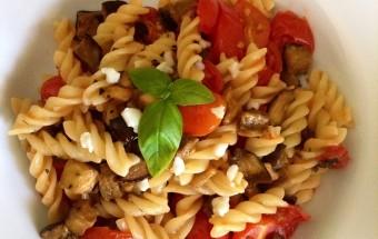 Ricetta pasta vegetariana con melanzane