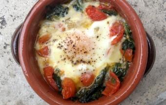 Ricetta facile e veloce uova al tegamino