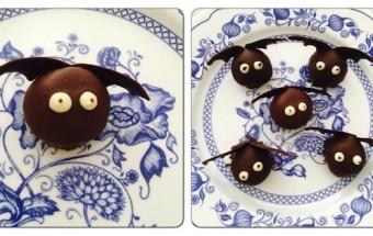 Ricetta dolce di Halloween con foto cake pops pipistrelli